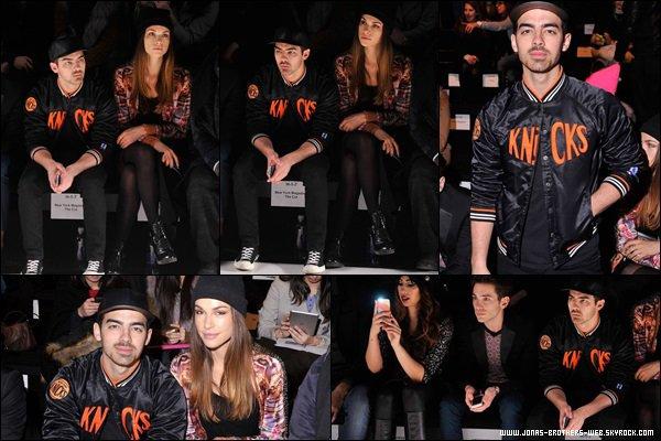 Le 07 Février 2014 | Nick et Olivia au Nicole Miller's after party.