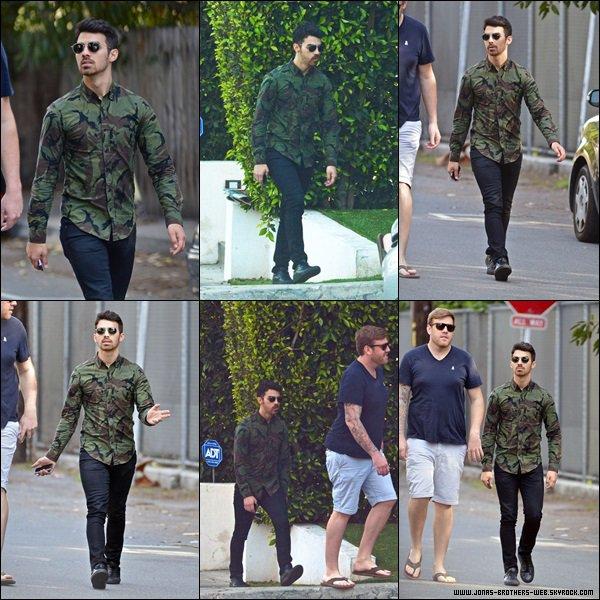 Le 22 Février 2014 | Joe et le géant Kyle ce balade dans L.A.