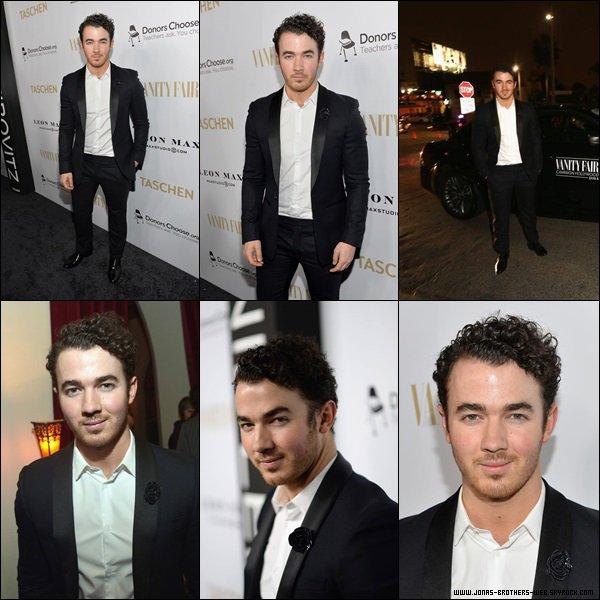 Le 26 Février 2014 | Kevin est allé au SUMO-Size Book Launch organisé par Vanity Fair.