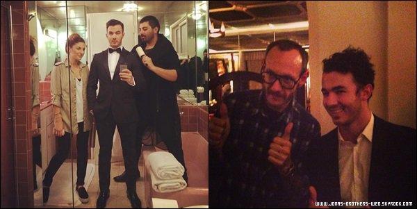 Le 27 Février 2014  | Joe a été vue quittant le Blu Jam Cafe.
