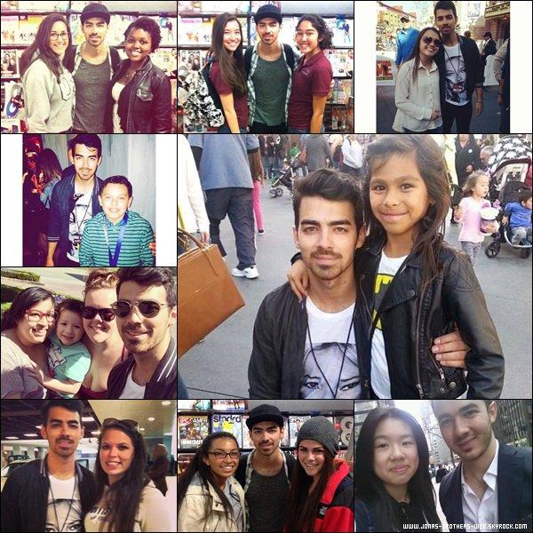 Le 03 Avril 2014 | Joe et Blanda sont allé au Studio Universal, L.A.
