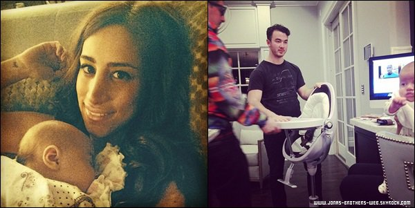 Photos | Nouvelle photo d'Alena Rose Jonas et ses parents chéris.