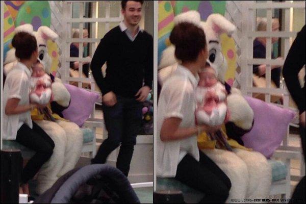 Le 12 Avril 2014 | Nick était en studio pour écrire une chanson avec Olivia Somerlyn et Paul Phamous.