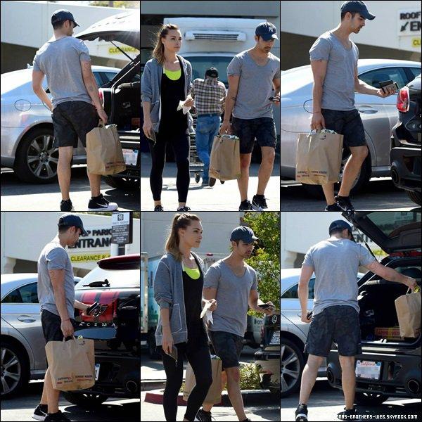 Le 30 Avril 2014 | Joe et Blanda ont été faire des courses à L.A.