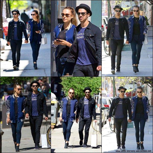 Le 05 Mai 2014 | Joe et Blanda ont fais une balade dans Soho, New York.