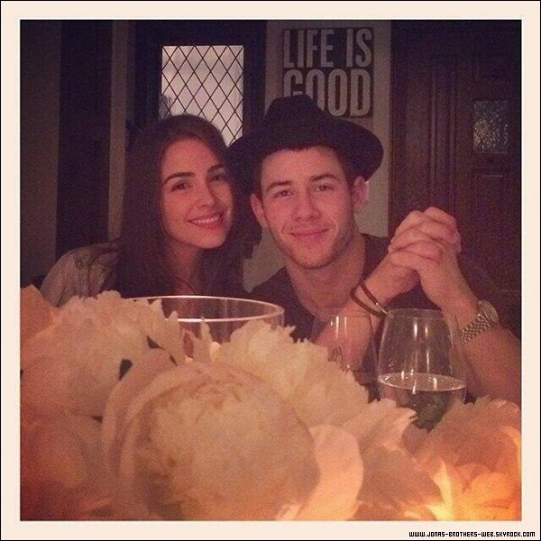 Le 07 Mai 2014 | Nick a l'anniversaire de sa chérie Olivia, L.A.