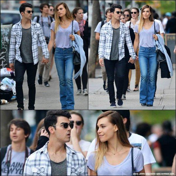 Le 10 Mai 2014 | Joe et Blanda en balade dans Soho, NY.