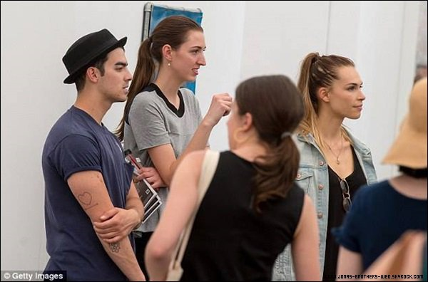 Le 11 Mai 2014 | Joe et Blanda au Frieze New York Art Fair.