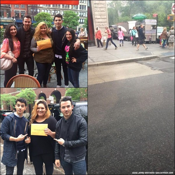 Le 21 Mai 2014 | Joe et Blanda en balade dans Soho, New York.