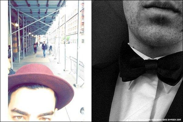 Le 22 Mai 2014 | Kevin et Joe pendant la chasse au trésors dans New York.