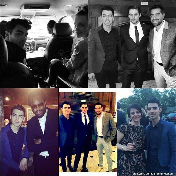 Le 24 Mai 2014 | Joe et Blanda sont allé au mariage du manager de Blanda à L.A.