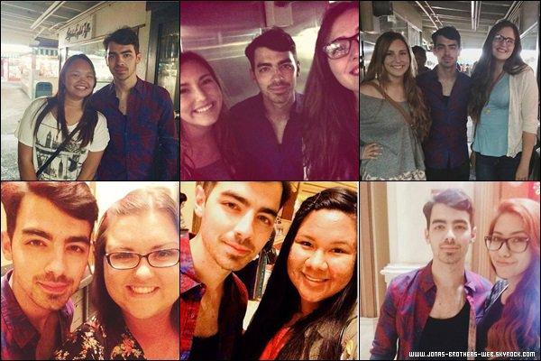 Photos | Joe a posé avec plusieurs fans à The Groove, L.A.