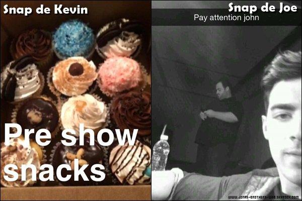 Snapchat | Vidéo de Kevin posté sur son compte.