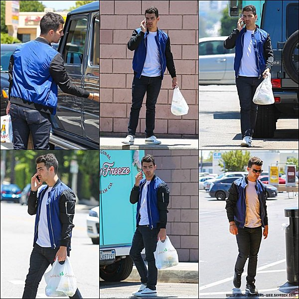 Le 15 Juin 2014 | Nick a fait du Baseball à Los Angeles.