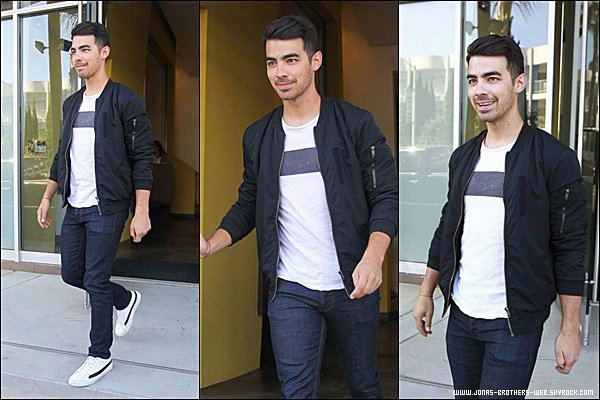 Le 18 Juin 2014 | Joe quittant un immeuble dans West Hollywood, L.A.