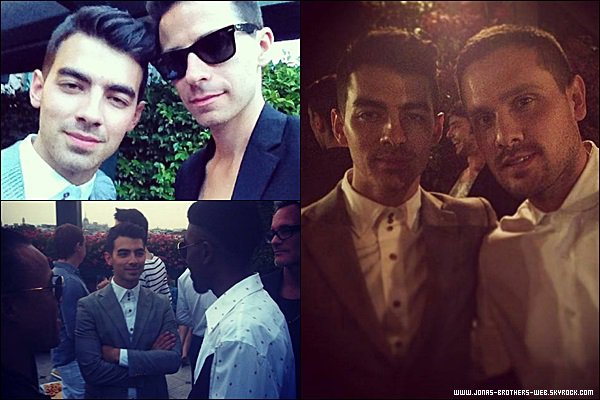 Le 23 Juin 2014 | Joe a assisté au défilé de Diesel Black Gold à Milan, Italie.