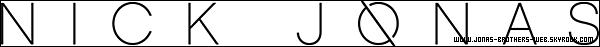 Site | Nick à un tout nouveau site ! http://www.nickjonas.com/ avec en passant un tout nouveau logo.
