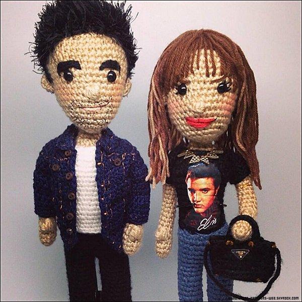 Photo | Petite statue de Joe et Blanda offert par JJ à sa belle.