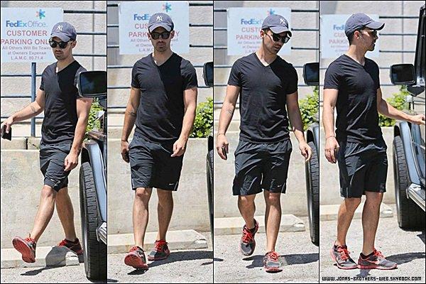Le 07 Juillet 2014 | Joe et Blanda ce sont balader dans West Hollywood.