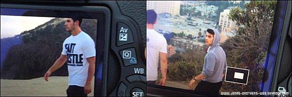 Le 09 Juillet 2014 | Joe et Nick ont fais une randonnée à Los Angeles.