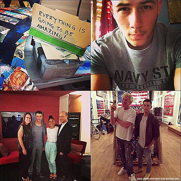 Instagram  | Nick a posté ces photos sur son compte.