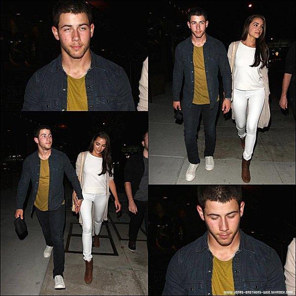 Le 15 Juillet 2014 | Nick et Olivia sont allé mangé au restaurant de Eveleigh à New York.