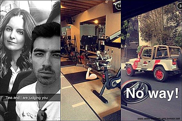Snapchat | Joe a posté ces photos et cette vidéo sur son compte.