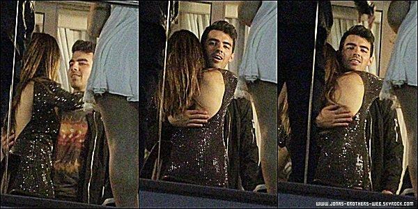 Le 22 Août 2014 | Joe est allé dans la boite de nuit Miror à Rio de Janeiro, Brésil.