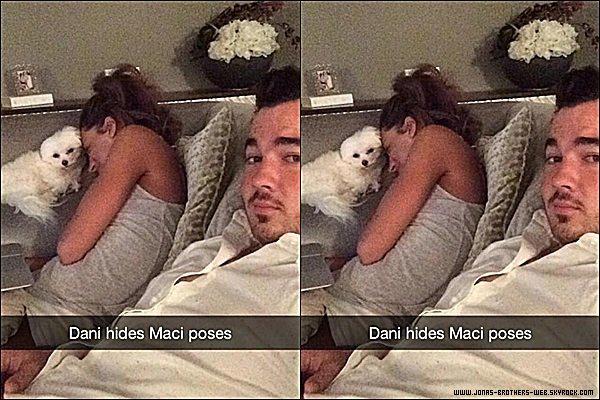 Snapchat   Kevin a posté cette photo sur son compte.