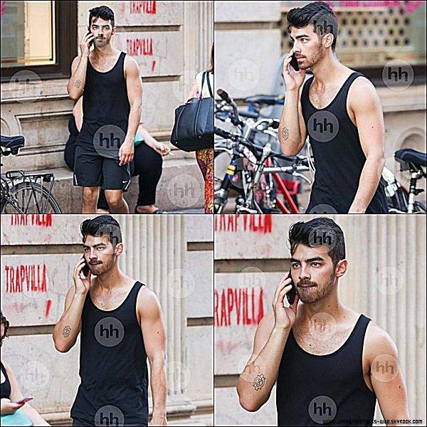 Le 05 Septembre 2014 | Joe et un ami en balade dans New York.