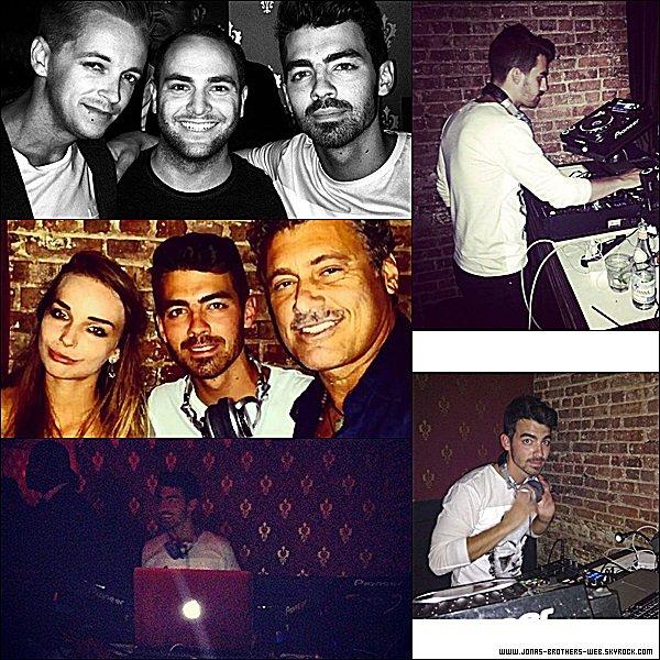 Le 04 Septembre 2014 | Joe et son amie Gigi prit en poto dans New York.