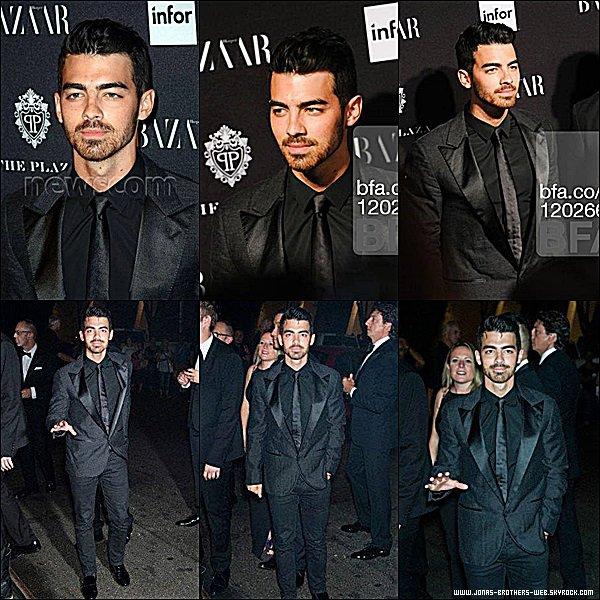 Le 05 Septembre 2014 | Joe est allé à l'événement G-Star RAW, New York.