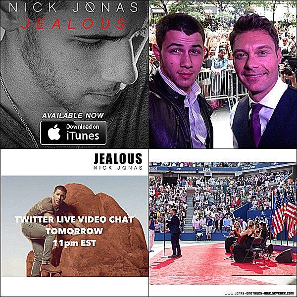 Instagram | Nick a posté ces photos et cette vidéo sur son compte.