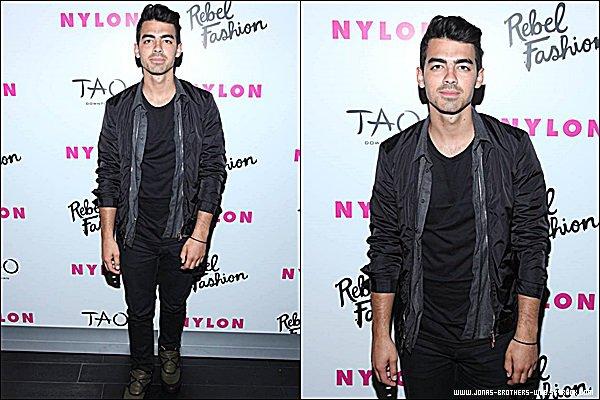 Le 08 Septembre 2014 | Joe est allé à la soirée de Nylon Rebel Fashion Party à New York.