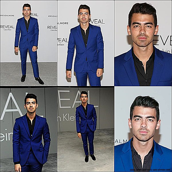 Le 08 Septembre 2014 | Joe est allé au REVEAL Calvin Klein Fragrance Launch Party, New York.
