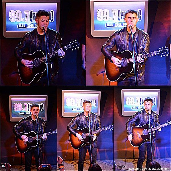 Le 24 Septembre 2014 | Nick au Great American Music Hall à San Francisco.