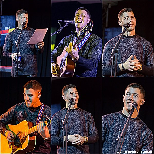 Le 22 Septembre 2014 | Nick au Carter Subaru Live Theater.
