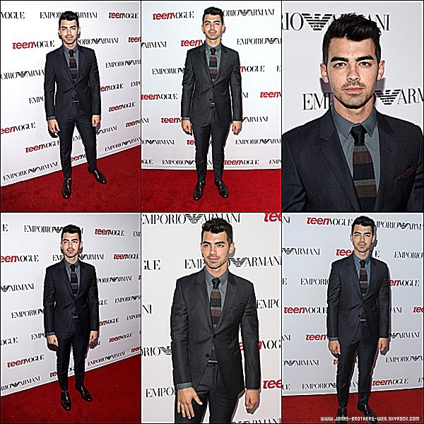 Le 26 Septembre 2014 | Joe au 12th Annual Teen Vogue Young Hollywood Party à Beverly Hills.