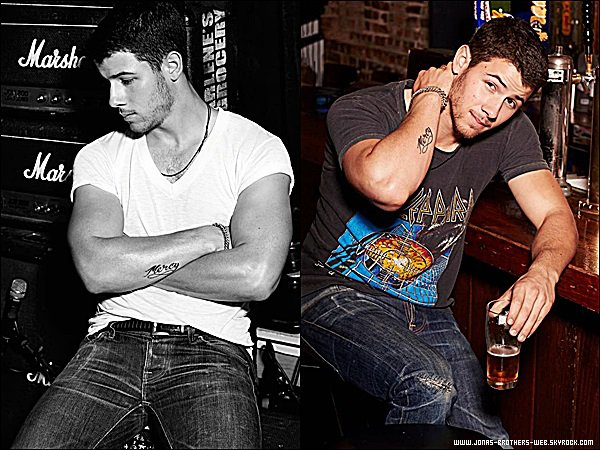 Photoshoot | Nick a fait un shoot pour le magazine Cosmopolitan.
