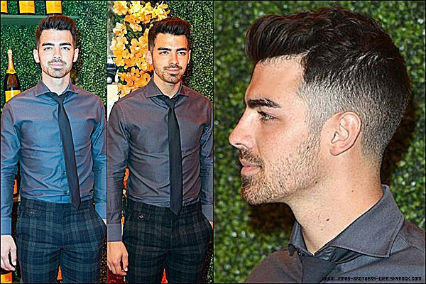 Le 11 Octobre 2014 | Joe est allé au Fifth-Annual Veuve Clicquot Polo Classic.