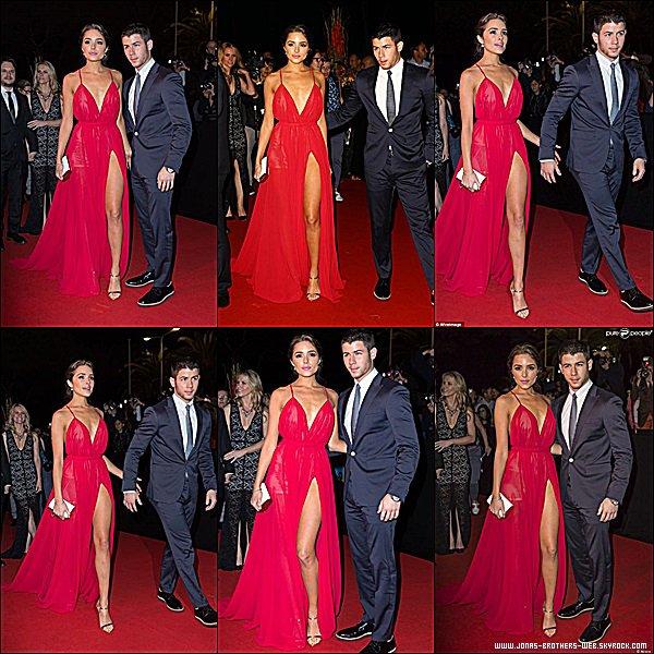 Le 13 Octobre 2014 | Nick et Olivia au MIPCOM 2014 à Cannes, France.