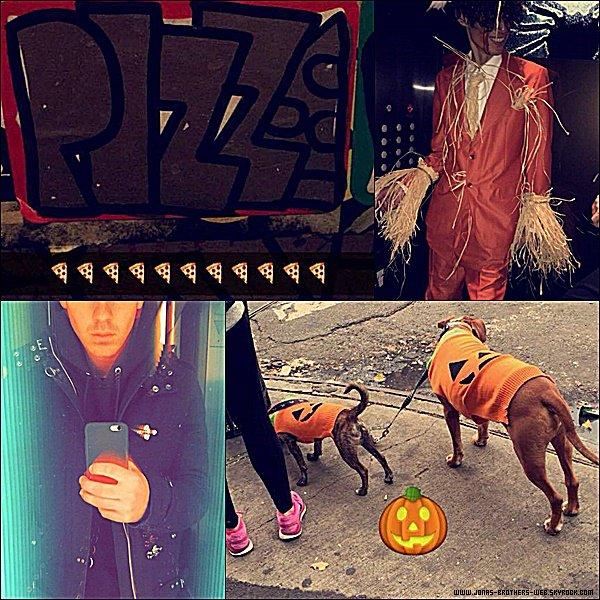 Le 31 Octobre 2014 | Joe est allé à la soirée de Heidi Klum's 15 Annual Halloween Party.
