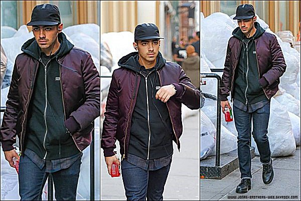 Le 03 Novembre 2014 | Joe dans les rues de New York.