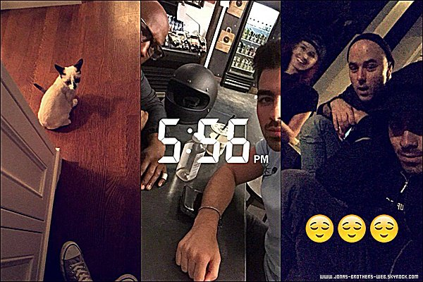 Snapchat | Joe a posté ces photos sur son compte.