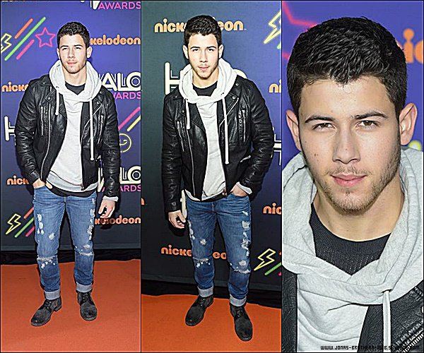 Le 15 Novembre 2014 | Nick au Sixth Annual Nickelodeon HALO Awards, New York.