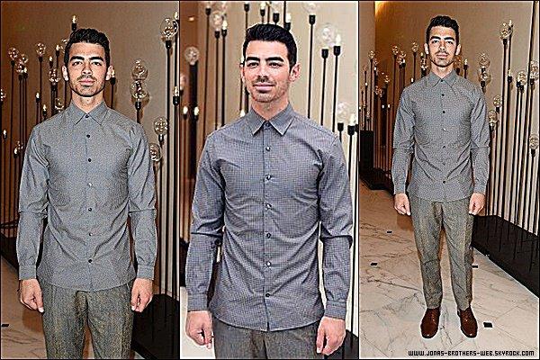 Le 03 Décembre 2014 | Joe est allé au Celebrity Sightings à Miami.