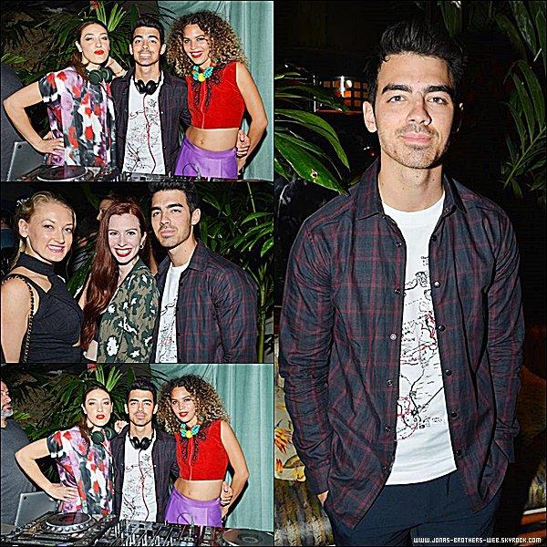 Le 03 Décembre 2014 | Joe présent la soirée Galore Magazine Dinner Party, Miami.