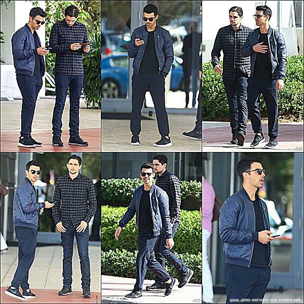 Le 06 Décembre 2014 | Joe et son ami en balade dans Miami.
