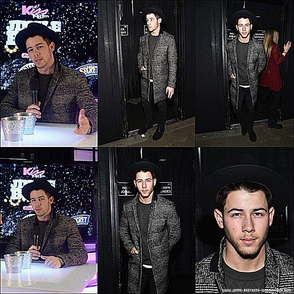 Le 12 Décembre 2014 | Nick et Olivia allant à l'anniversaire de Taylor Swift à New York.