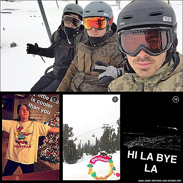 Photos | Joe a posé avec deux fans.